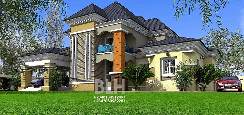 Architectural Designs By Blacklakehouse 5 Bedroom Bungalow With Penthouse