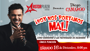 ¡HOY NOS PORTAMOS MAL! con Diego Camargo
