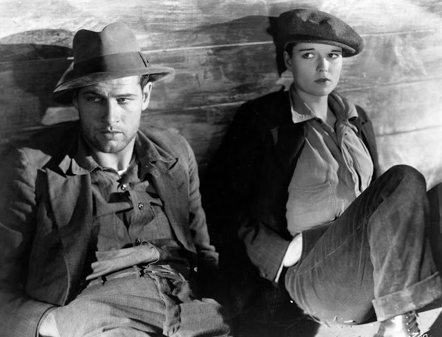 Richard Arlen and Louise Brooks in Beggars of Life (1928)