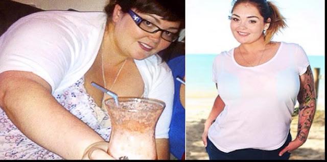 بمعجزة خسرت وزنها الزائد بسرعة بعد أن تناولت من هذا المشروب لمدّة شهرين! إفعلوا مثل هذه المرأة...