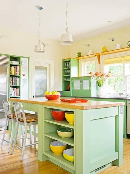 Kitchens with lots of color 5