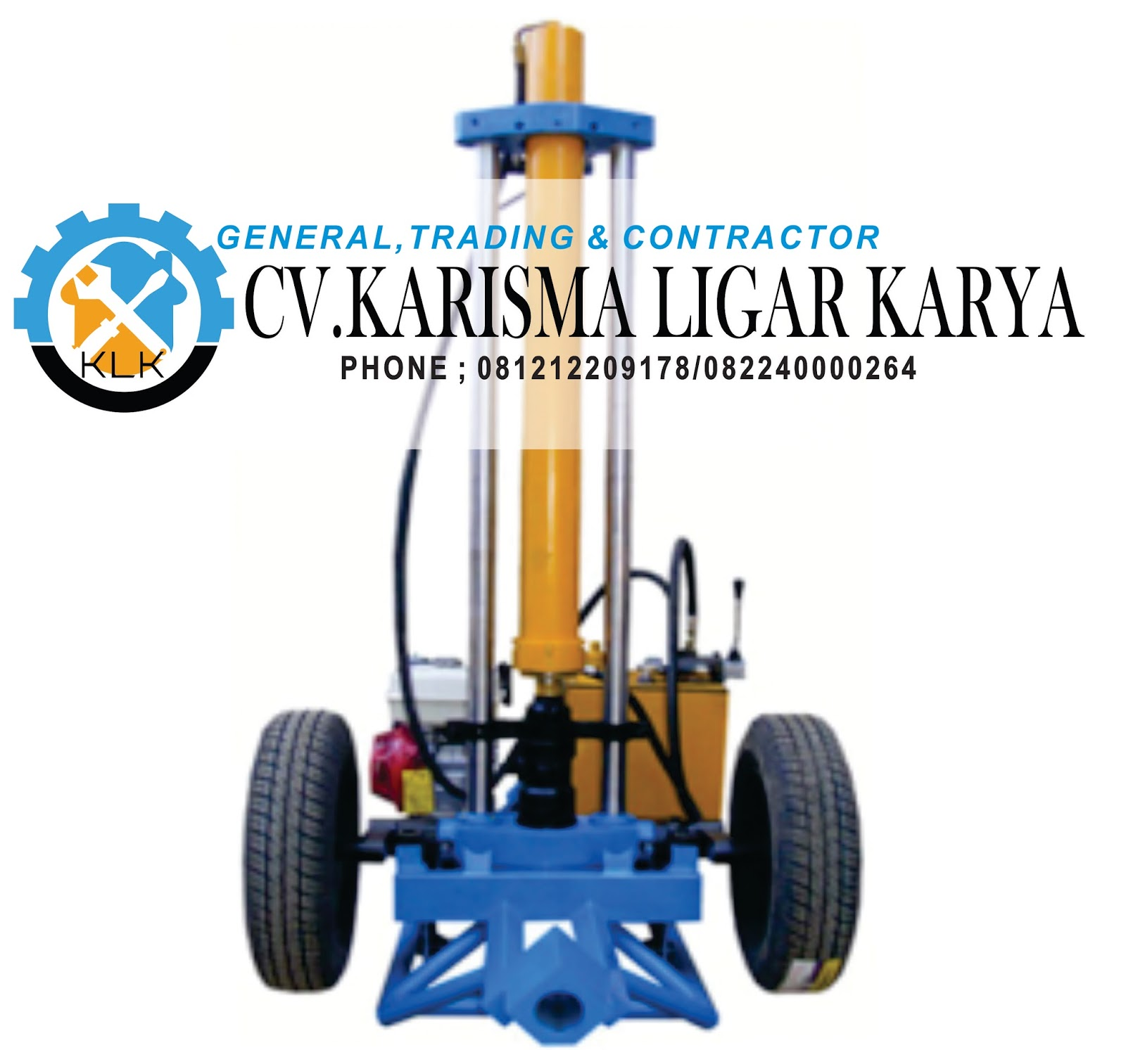 Jual Sondir Hydraulic 5 Ton