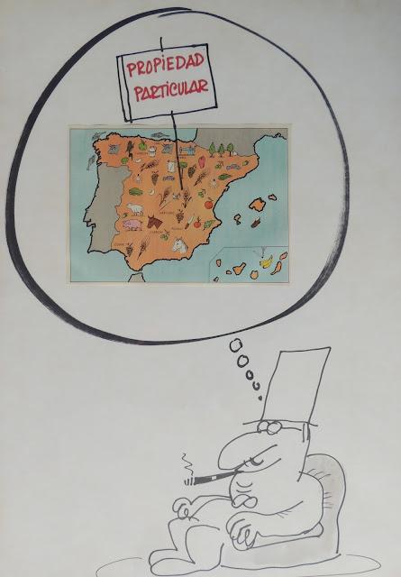 Jaume Perich ilustración España propiedad dibujo Gaudifond Arte