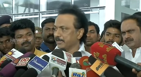 MK Stalin slams Centre and state govt over farmers protest