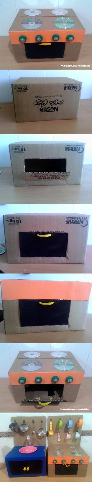 caja-de-carton-fuegos-con-Cds-horno