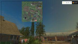 Glubinka 3 and additions map