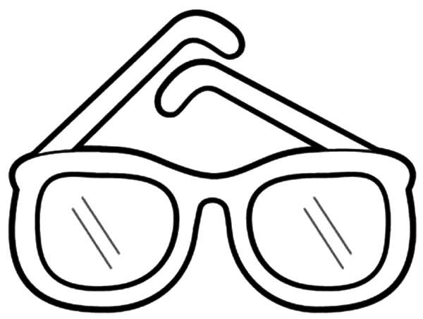 Desenhos De Oculos Para Colorir Pintar Imprimir Letra O
