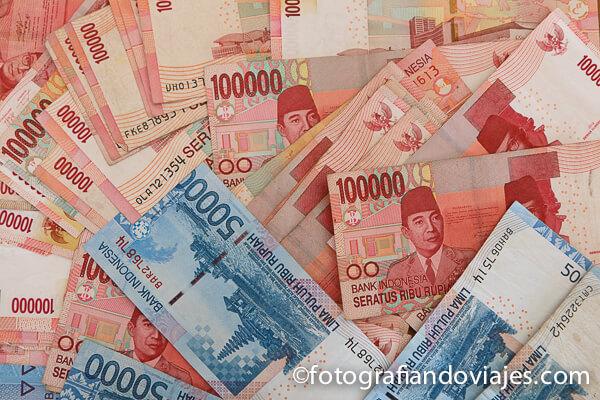 billetes dinero