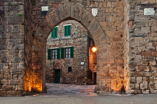 medieval town in Italy