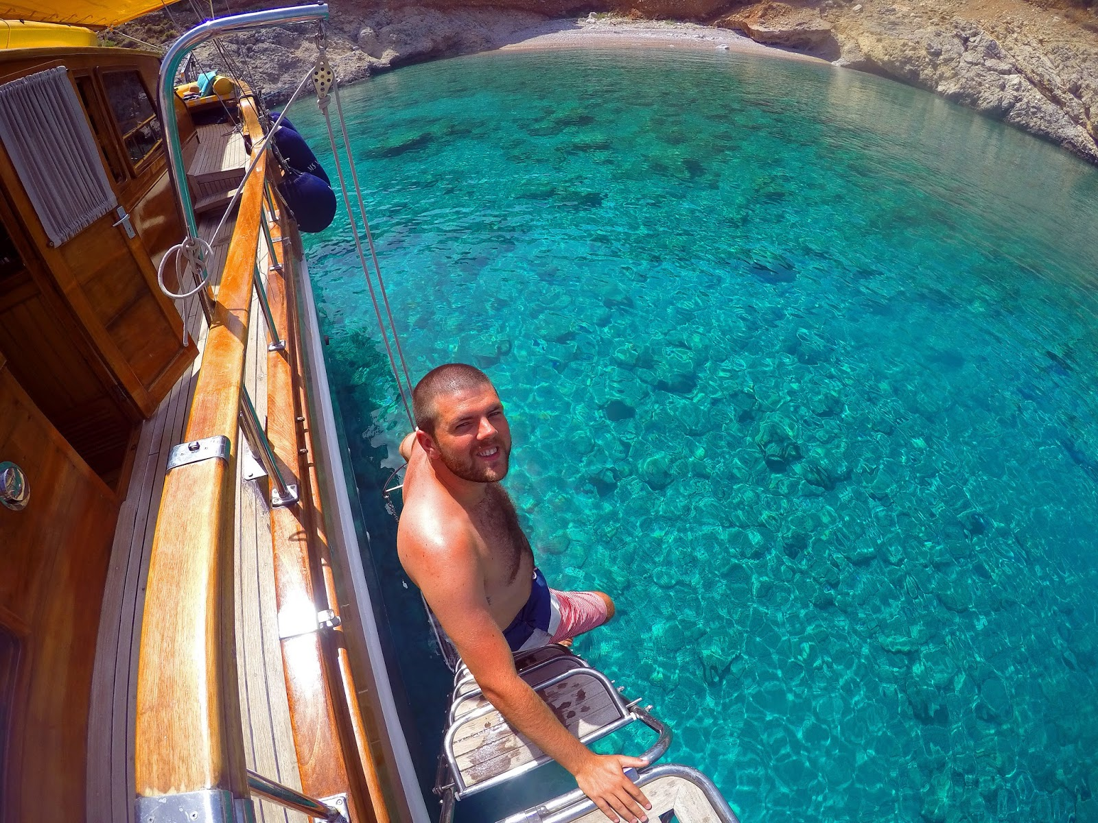 Stunning water sailing in Turkey