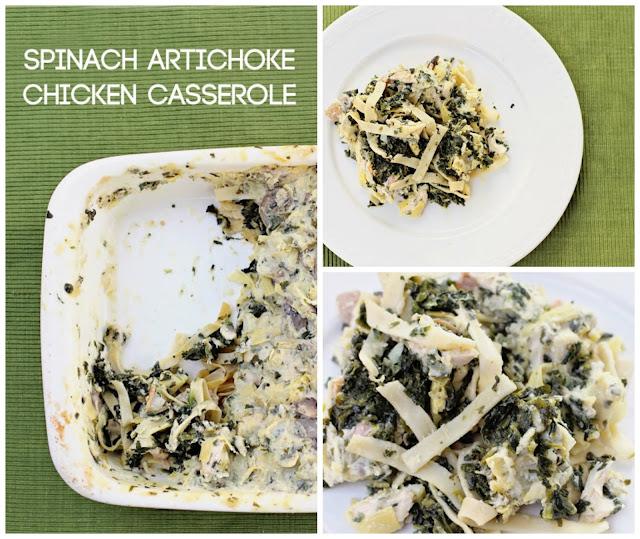 Spinach Artichoke Chicken Casserole Recipe