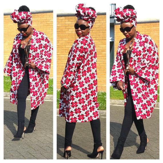 40 Ankara Kimono Styles 2018 That Are Stylish And Classic For