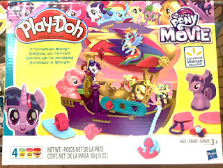 Exclusive MLP Play-Doh Pirateship at Walmart