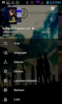 BBM MOD v3.0.0.18 Laskar Pelangi APK best screen