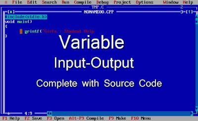 c-language-variable-input-o