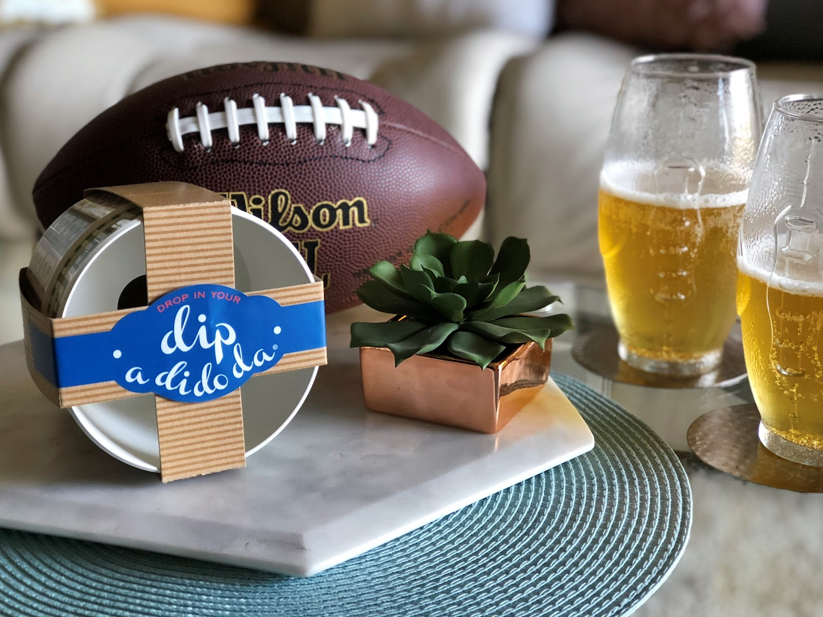 homegating football party