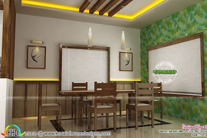 Dining, Kitchen, Living Room Interior Designs