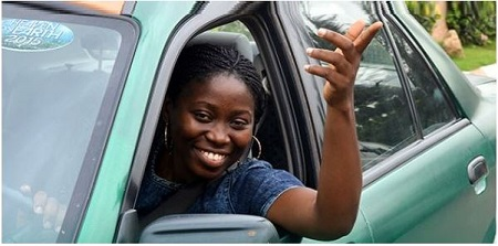 Why I Dropped My Degree to Become a Taxi Driver - Abuja-based Female Taxi Driver Reveals