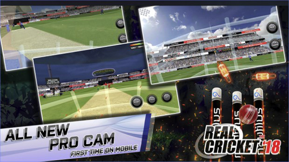 Real Cricket 18 Mod Apk Data Unlimited Money Unlocked Terbaru