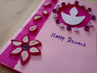 Happy Diwali Handmade Greeting Cards Images