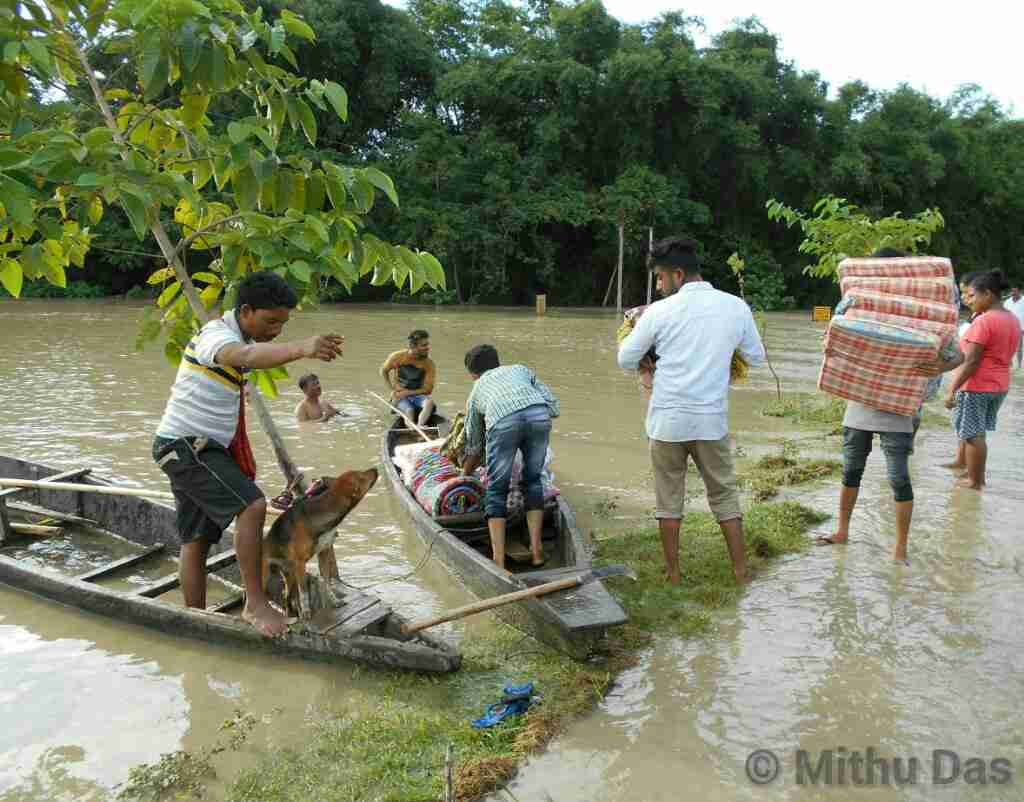 The 2018 Dhansiri flood at Golaghat