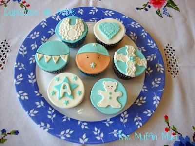 Cupcakes de bebé