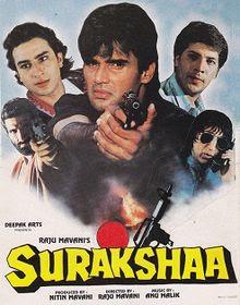 Surakshaa (1995) Hindi 720p HDRip x264 1.6GB