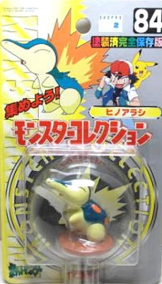 Cyndaquil figure Tomy Monster Collection series