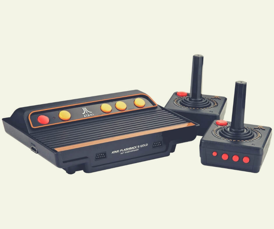 Christmas Gift Ideas For Your Wife / Husband   Let him relive the 70s with this Atari!