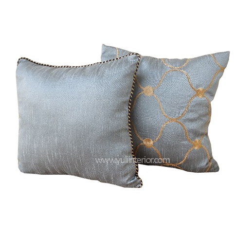 Buy Silver and Gold Plain and Pattern Throw Pillows in Port Harcourt, Nigeria