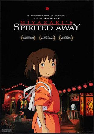 Spirited Away 2001 BRRip 720p Dual Audio In Hindi Japanese
