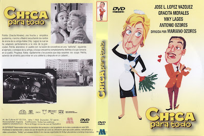 Carátula: Chica para todo | 1963, Dvd