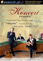 Gitaristički trio Alegrias, koncert, Bol slike otok Brač Online
