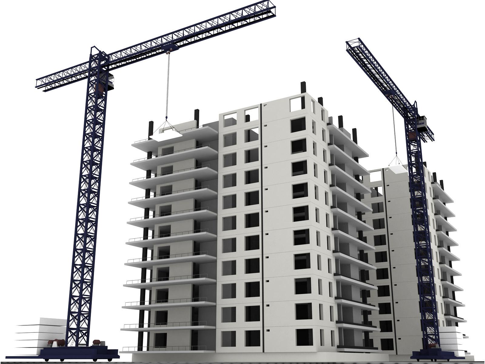 Welcome to 3D Cad Models: 3d Buildings - En Construction