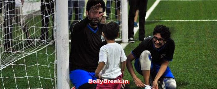 Azad Rao Khan, Abhishek Bachchan,  Kiran Rao, Bollywood Celebs play football match for Aamir khan's daughter Ira Khan