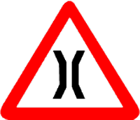 Narrow Bridge Symbol
