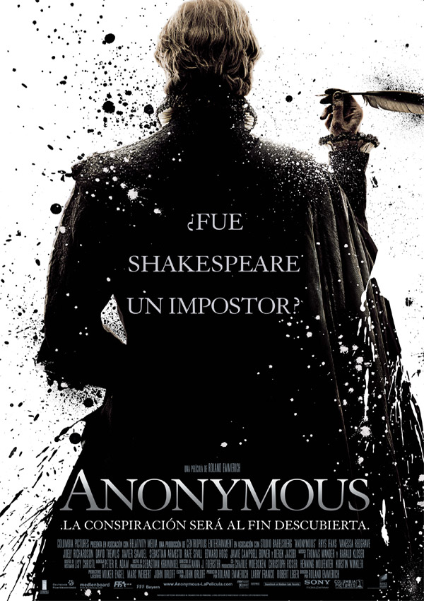 Póster: Anonymous (Roland Emmerich, 2.011)