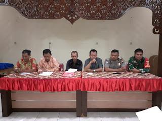 Babinsa Koramil 03 Serengan Ikuti Rapat Koordinasi Pengamanan TPS