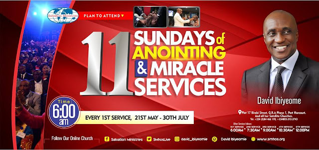 Video: Plan to Attend 11 Sundays of Anointing and Miracle Services with Pastor David Ibiyeomie
