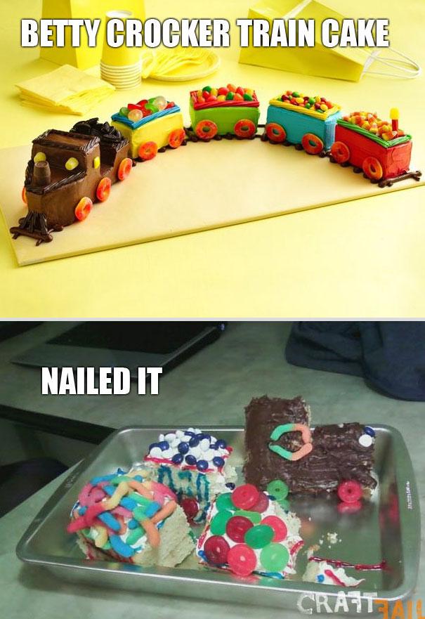 Trainwreck Cake