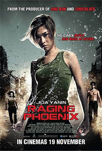 Raging Phoenix 2009 Dual Audio ORG Hindi BluRay 480p 350MB ESubs movie poster