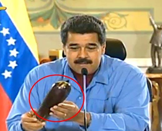 """Maduro enviará """"una berenjena"""" a Capriles y hace insinuaciones en horario infantil"""