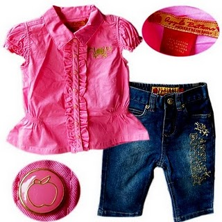 New Apple Bottom Jeans Set Buy Baby Clothes Kedai Baju