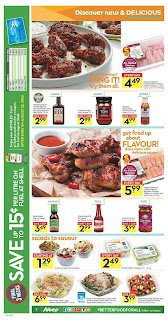 Sobeys flyer oct 10 2016