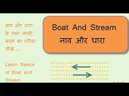 BOAT AND STREAM FORMULA AND SHORTCUT METHODS