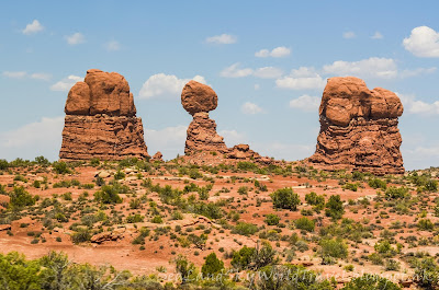 拱門國家公園, Arches National Park, Park Avenue