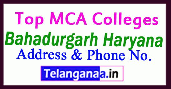 Top MCA Colleges in Bahadurgarh Haryana