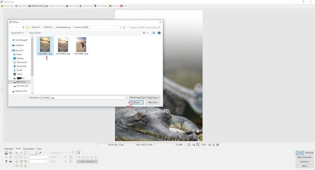 Photoscape Anleitung Bilder übereinanderlegen 4 Foto einfuegen