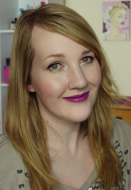 MAC The Matte Lip 2015 - Heroine Lipstick Swatches & Review