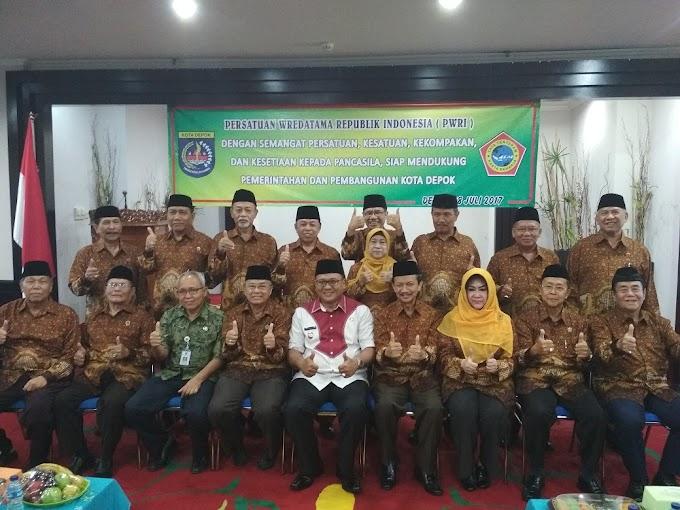 Pengurus PWRI Kota Depok Masa Bakti 2017-2022 Dikukuhkan